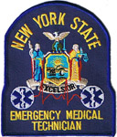 NYS EMT patch